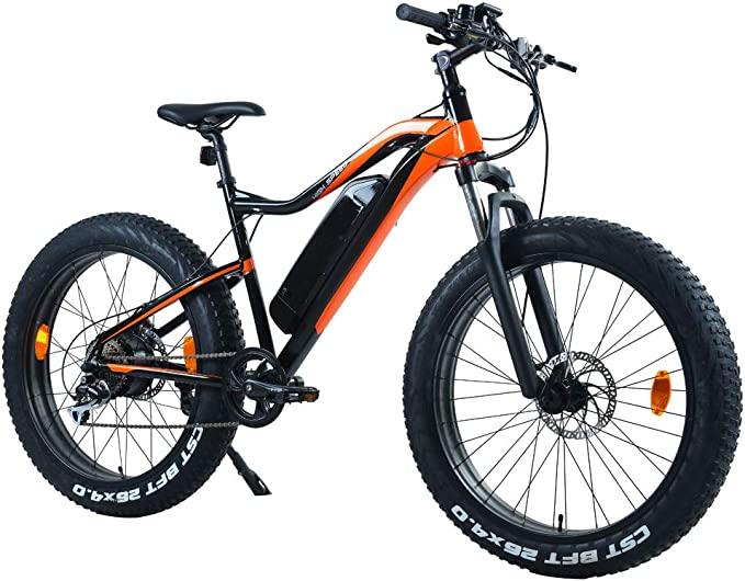 Beston Sports Electric Bike ebike City/Mountain Cycling Warrior Style Brushless Rear Motor with LCD Display