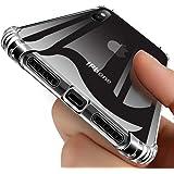 iPhone XS Max ケース TPU 透明 耐衝撃 耐久性 衝撃吸収 軽量 薄型 バンパー Qi充電対応 傷つけ防止 取り出し易い 米軍MIL規格取得 カバー ソフト シリコン メッキ加工 オシャレ 人気 全面クリア ストラップホール付き スリム レッド QH02-1