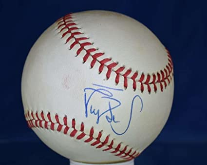 reputable site 93062 12aa9 Darryl Strawberry Autographed Baseball - Cert National ...