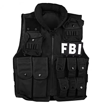 00a0495853b52 Uniquebella Tactical Vest Children Military Vest for Kids Molle Vest Combat  Training Vest with Sticker for Airsoft Paintball Swat Assault Army Shooting  ...
