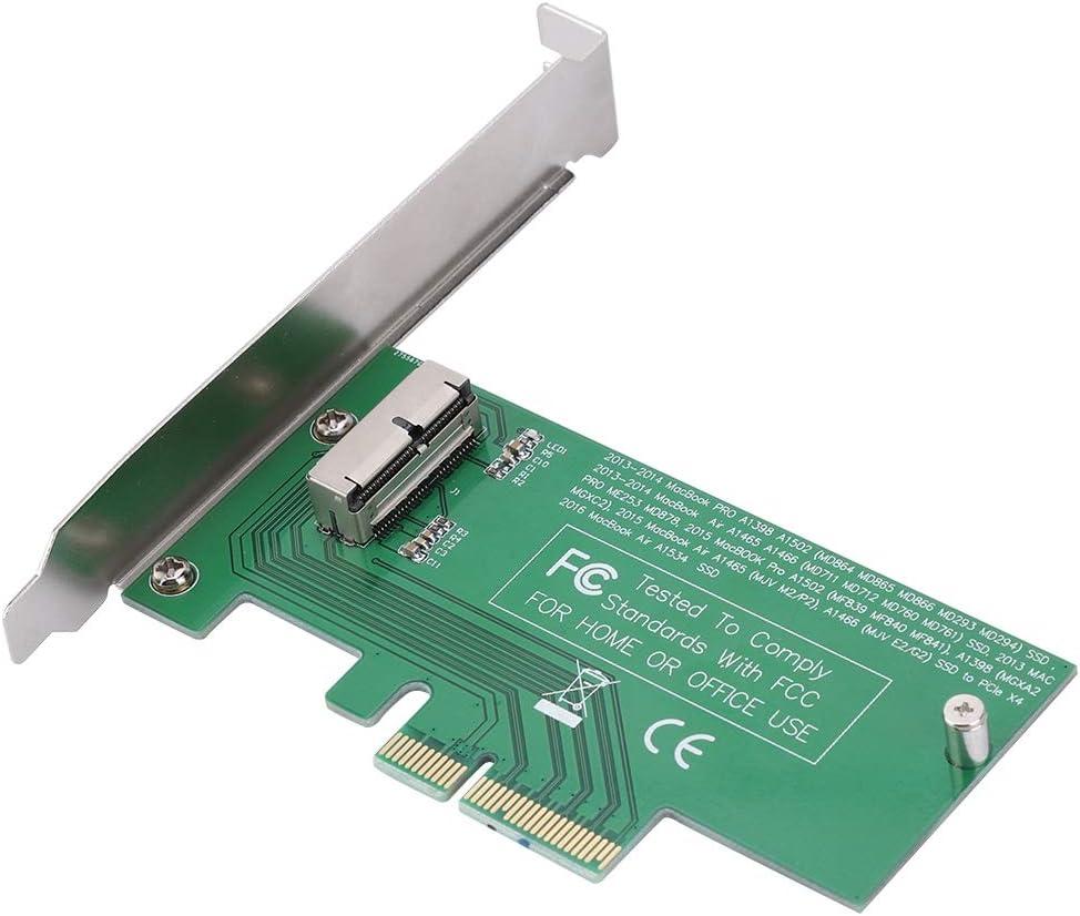 Oumij Tarjeta de Adaptador de Disco Duro a PCI-E Converter ...