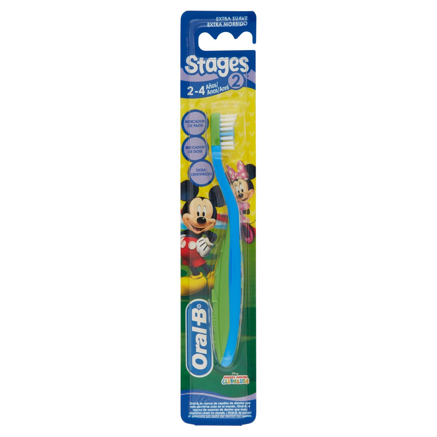 Amazon.com: Oral-B Stages 2 Toothbrush Manual Soft Children: Health & Personal Care