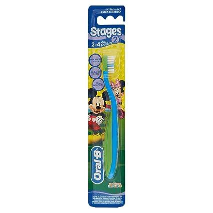 Oral-B Infantil Stages 2 Cepillo de dientes (2-4 años)  Amazon.es ... eb5fb9c6af12