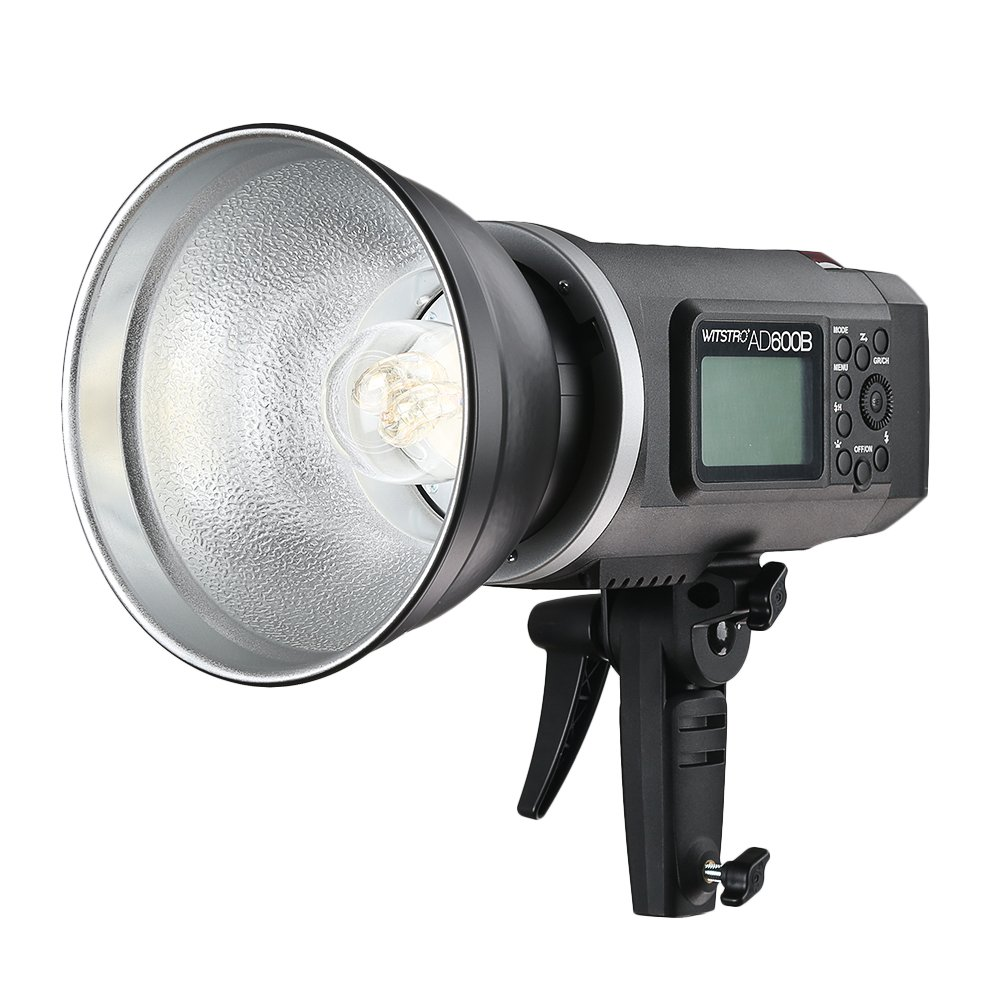 Godox AD600B Outdoor Studio Flash Strobe Light, TTL 600W GN87 High Speed Sync,Build-in 2.4G Wireless X System, 8700mAh Battery to Provide 500 Full Power Flash with Bowens Mount by Godox