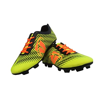 Buy Gowin Thunder Football shoes (Green) (UK 9) Online at Low Prices ... 6c3a7aaba
