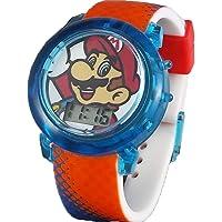 Super Mario Flashing Strap LCD Kids Watch