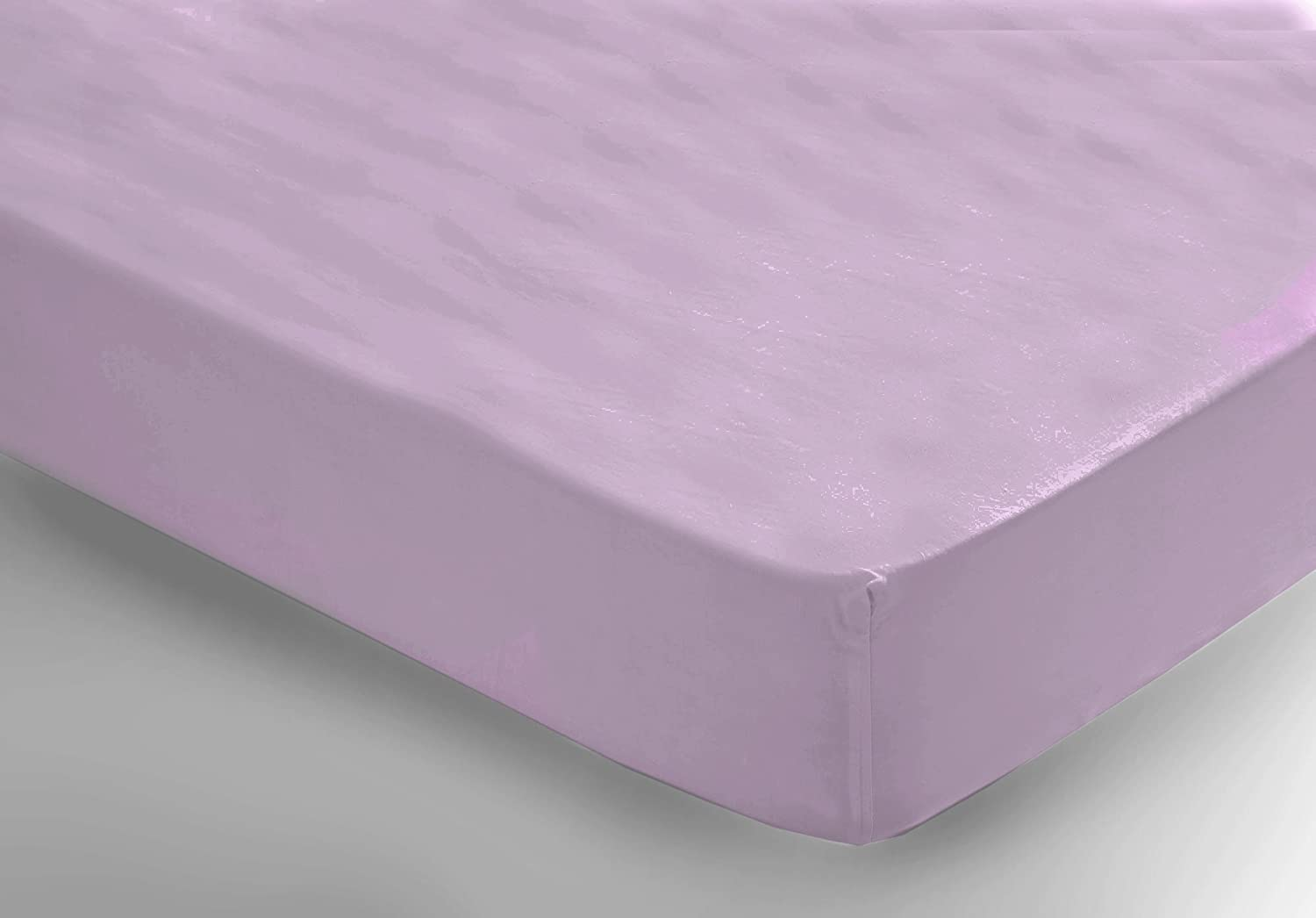 True Certified Organic Crib Fitted Sheet. Soft Luxurious and Healthy Lilac by Organictextiles.com   B00I80SSDA