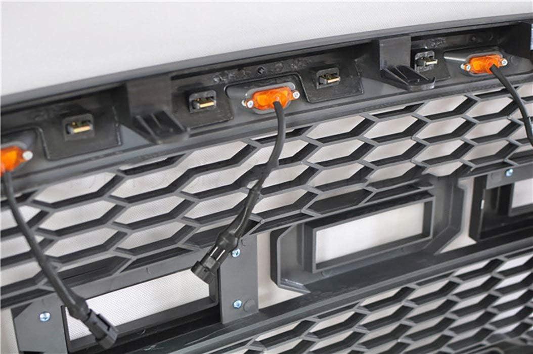 HJHNB ABS Front Mesh Grill Grille F/ür Ford Raptor F150 F-150 2015-2017 LED Auto Sto/ßstange K/ühler Dekorative /Änderung Ersatz Zubeh/ör mit 3