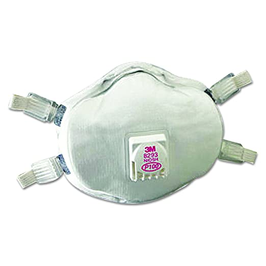 3 P100 Cool Disposable With Valve 8293 Cup Respirator Flow M Exhalation Particulate