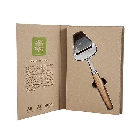 CAR Bomboniere Eco Cuchillo para queso, Tamaño 24 cm, acero ...