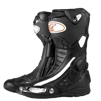 Zapatillas De Moto Hombre Botas Altas De Carreras Desnudas 4 Estaciones Fuera De La Carretera Zapatillas