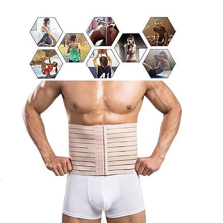 Hombres trimmer de la cintura, trimmer de cintura transpirable dulce abdomen cinturón entrenador ejercicio más rápido pérdida de peso abrigo,XL: Amazon.es: ...
