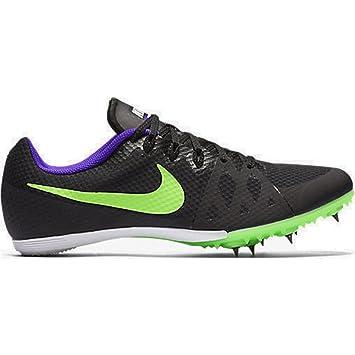 Nike Men's Zoom Rival MD 8 Track Spike Black/Fierce Purple/Green Strike Size