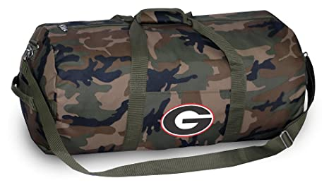 81a46e6f9f48 Image Unavailable. Image not available for. Color  Georgia Bulldogs CAMO  Duffle Bag University of Georgia Duffel Suitcase Luggage