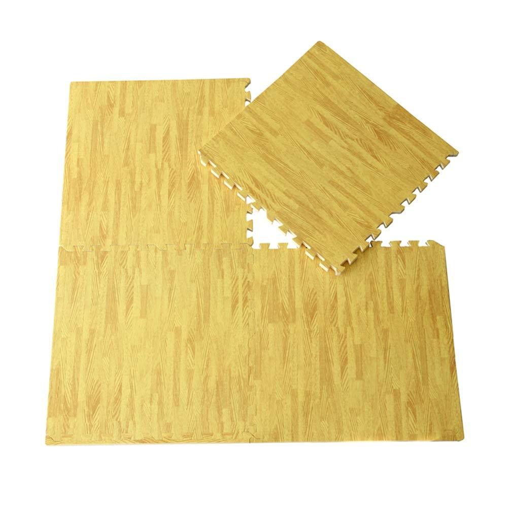 A 40-Tiles AMDHZ Tappetino Gioco Puzzle S uma Neonati con Bordo Sicurezza Confortevole Palestra Balcone Stuoia Strisciante, Coloreee Multiplo, 60x60x1.9cm (Coloree   C, Dimensione   4-Tiles)