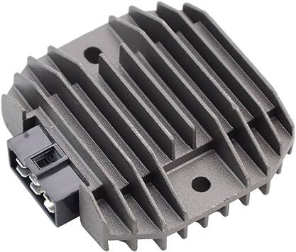 GOOFIT Voltage Regulator Rectifier for Kawasaki KEF300 Lakota ZZR600 KLF300 Bayou VN1500 H055-806