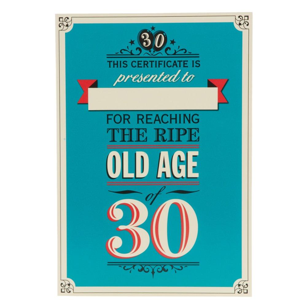 Hallmark 30th Birthday Card 18 With 12 Years Experience Medium – Hallmark Birthday Cards