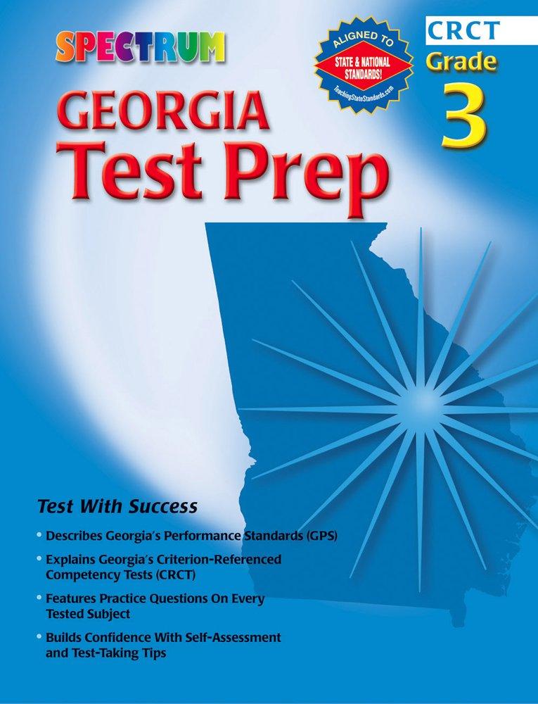Spectrum Georgia Test Prep Grade 3 Spectrum State Specific