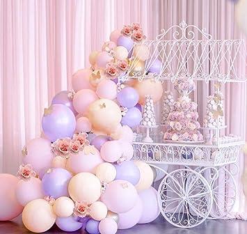 Amazon.com: Kit de guirnalda de globos de color pastel, 106 ...