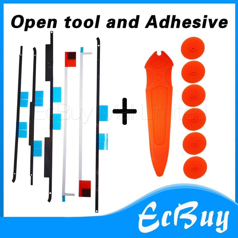 Connectors New A1419 LCD Display Adhesive Strip Sticker Tape//Tools Repair Kit for iMac A1419 27 076-1437 076-1422 076-1444 Cable Length: 1set, Color: Adhesive and Tool