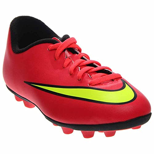 bcd75c40869 Nike Jr Mercurial Vortex II FG-R Kid s Soccer Cleats 651642-690 Punch Gold
