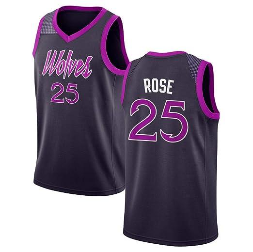 separation shoes 7c3be 1dc6d Mens Basketball Jersey Purple/Strip S-XXL | Amazon.com