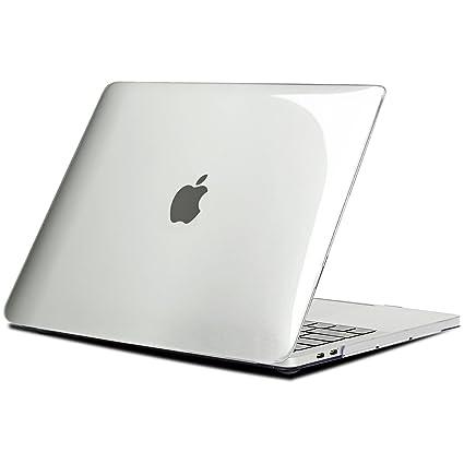 Funda para MacBook Pro 13 2016/ 2017/ 2018/2019, TECOOL Cubierta Plástico Dura Case Carcasa para MacBook Pro 13 Pulgadas con/sin Touch Bar (Modelo: ...