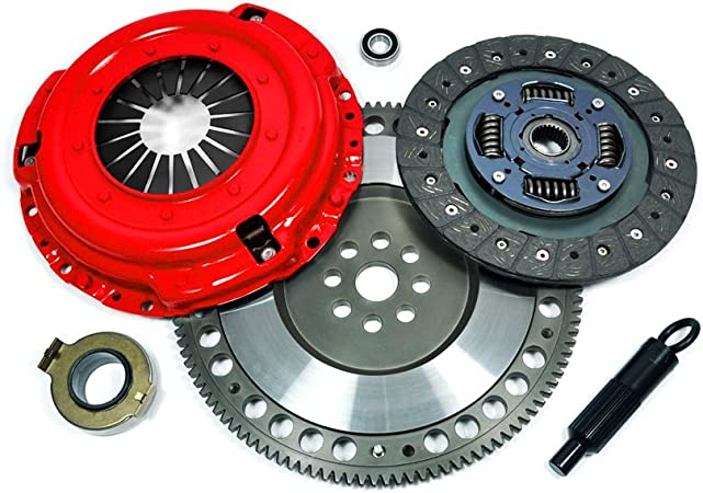 EFT HD CLUTCH KIT PROLITE FLYWHEEL+COUNTER BALANCE WEIGHT FOR MAZDA RX-8 RX8 1.3L