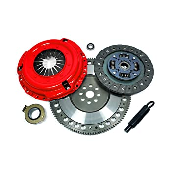 EFORTISSIMO STAGE 1 CLUTCH KIT & FORGED RACE FLYWHEEL for 90-96 NISSAN 300ZX TWIN
