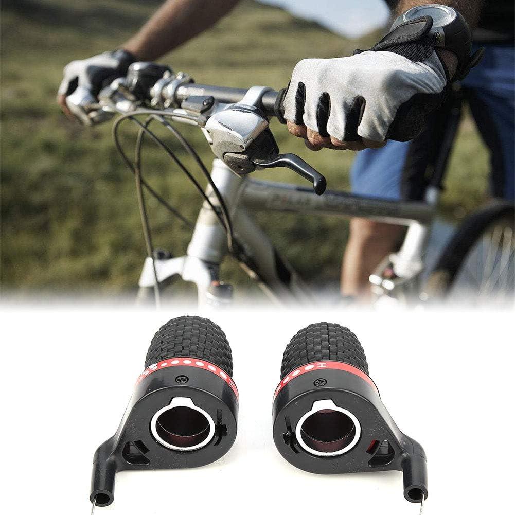 2pcs MTB Mountain Bike Bicycle Speed Shifters Derailleur Twist Grip Gear Shift