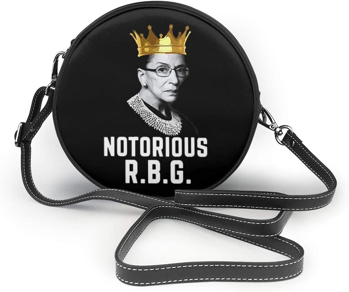 Masicbt54wjdfw Womans Otorious R.B.G V-Neck Shoulder Bags One Size