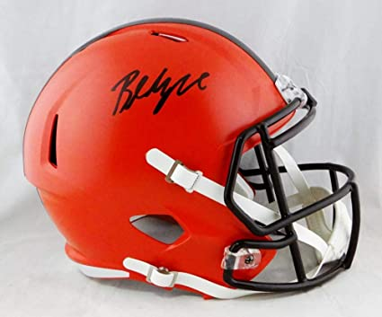 59e7d84a Amazon.com: Baker Mayfield Autographed Cleveland Browns Full Size ...