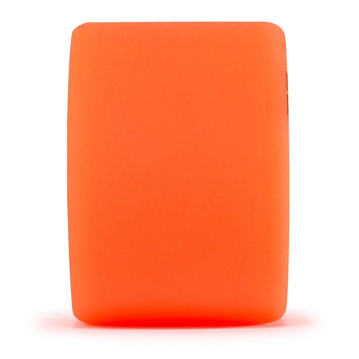 Orange, Set of 4 Orangatang Durian 75 mm 80a Freeride Longboard Skateboard Wheels