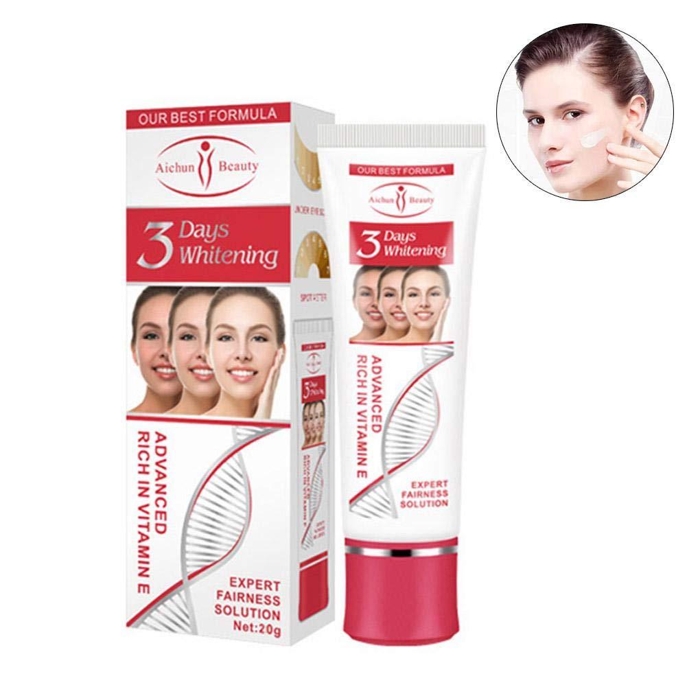 Crema hidratante para blanquear la cara, crema orgánica para combatir el envejecimiento, arrugas, manchas oscuras - Crema de día y de noche adecuada para todo tipo de pieles. RONDA