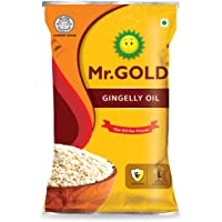 MR. GOLD Home Kitchen Gingelly Oil, 1 L