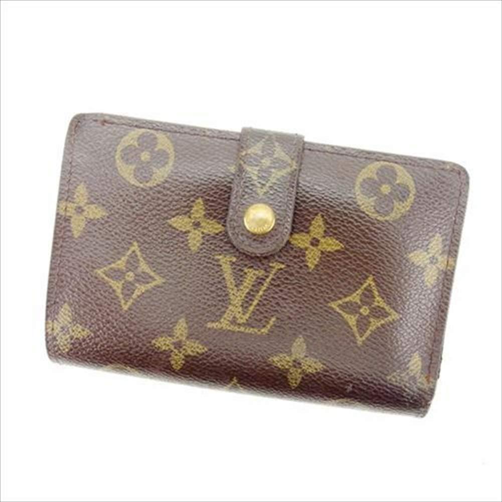 ルイヴィトン Louis Vuitton がま口財布 二つ折り メンズ可 ポルトフォイユヴィエノワ M61663 モノグラム 中古 T13402   B07R68T5YP