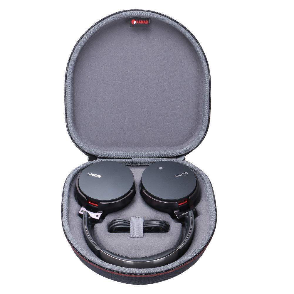 Estuche Para Auriculares Sony Wh-ch700n O Sony Xb950b1 Extra Bass  - Color Negra