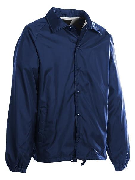 9597b0f43 First Class 100% Nylon Windbreaker at Amazon Men's Clothing store:
