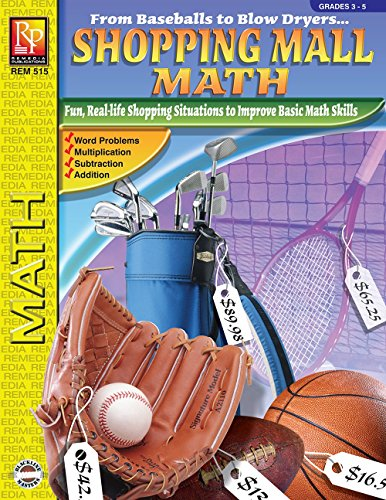Reviews/Comments Shopping Mall Math | Reproducible Activity Book (R515)