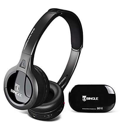 Bingle B616 multifunción estéreo auriculares inalámbricos auriculares con micrófono Radio FM para MP3 PC TV Audio