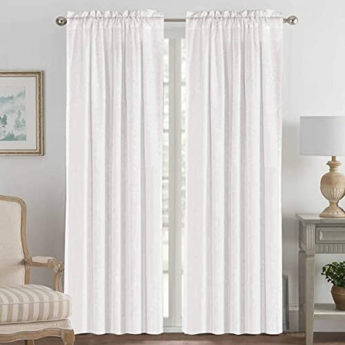 Linen Curtains Elegant Natural Linen Blended Curtains Energy Efficient Light Filtering / Rod Pocket Window Treatments Panels / Drapes