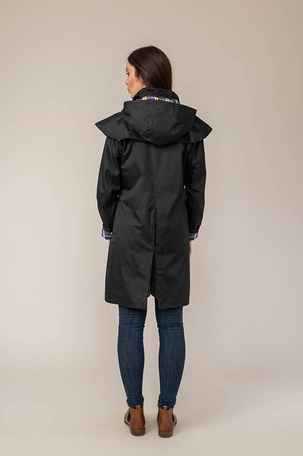 Lighthouse Outrider Femme 3//4 Longueur Raincoat imperm/éable