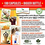 Organic Ashwagandha with Black Pepper - 180