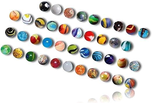 "14mm Marble King Over 50 9//16/"" Transparent Cobalt Glass Marbles"