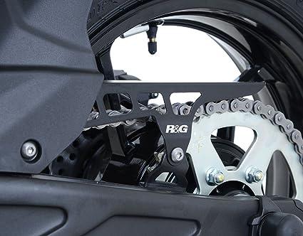 R&G Chain Guard for Kawasaki Ninja 650 17-18 & Z650 17-18 | Stainless Steel