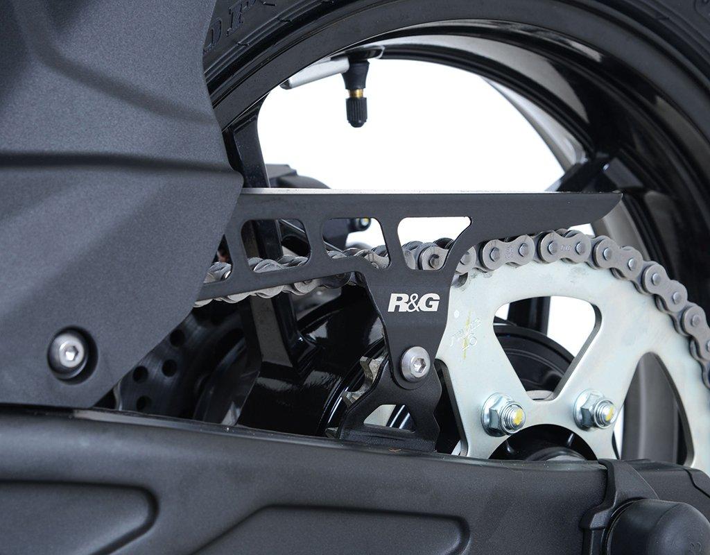 R&G Chain Guard for Kawasaki Ninja 650 '17-'18 & Z650 '17-'18 | Stainless Steel