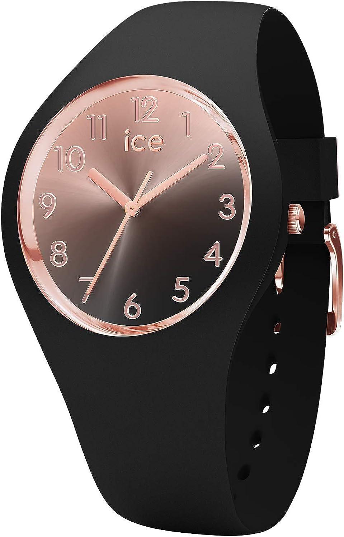 Ice-Watch - ICE sunset Black - Reloj nero para Mujer con Correa de silicona - 015746 (Small)