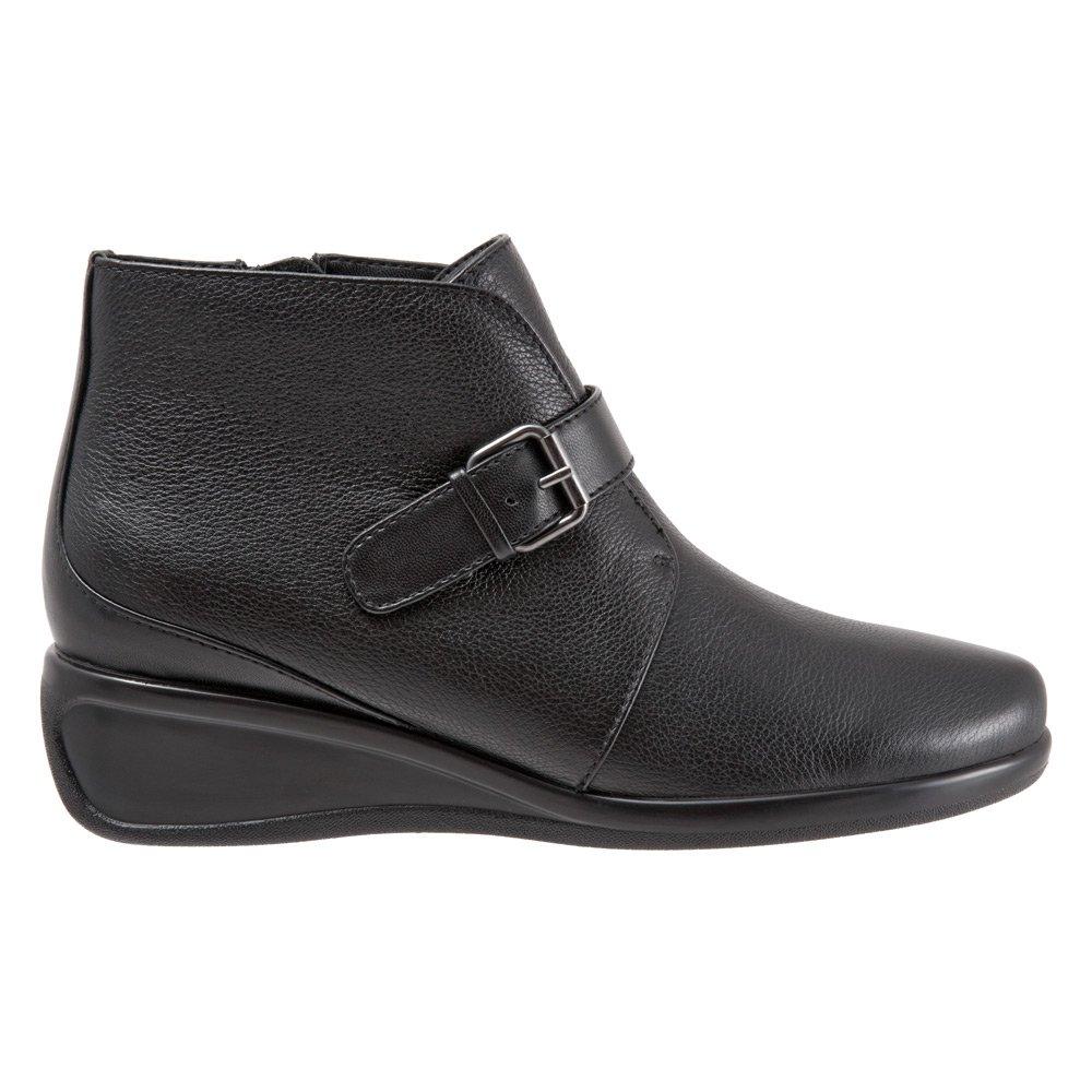 Trotters Women's Mindy Ankle Bootie B019QU4RHQ 8 N US|Black