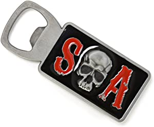 Animewild Sons of Anarchy SOA Skull Bottle Opener