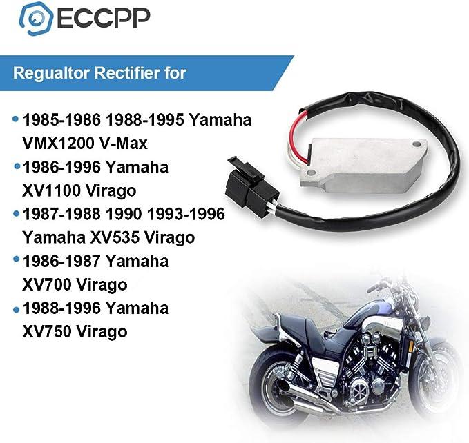 Yamaha VMX1200 V-Max 1986 Replacement Regulator Rectifier Unit